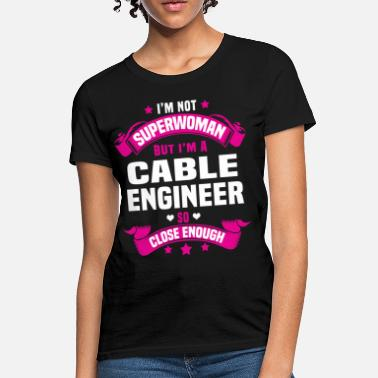 The Cable Guy Cable Engineer - Women's T-Shirt