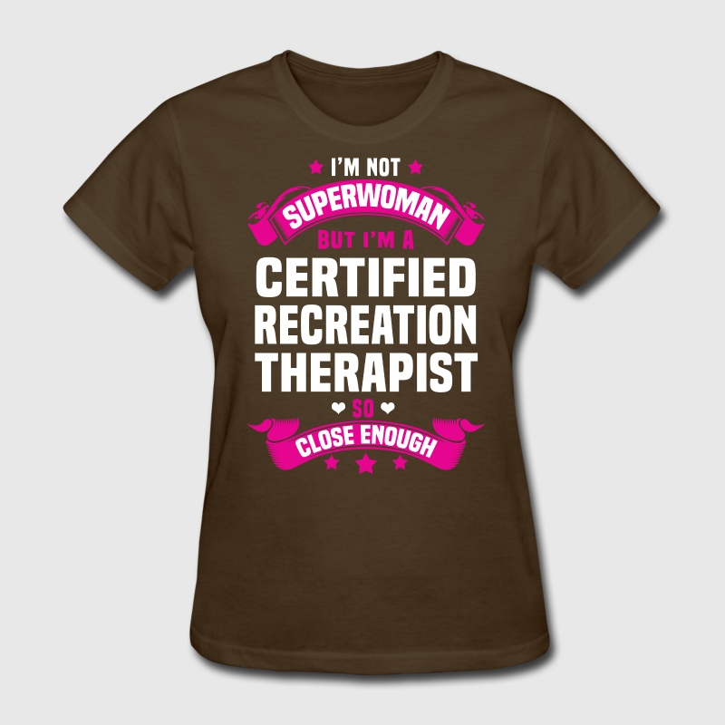 Certified Recreation Therapist By Bushking Spreadshirt