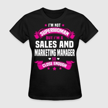 Sales and Marketing Manager - Women's T-Shirt