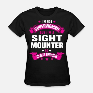 Not By Sight Sight Mounter - Women's T-Shirt