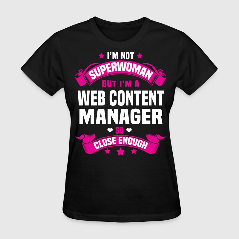 Web Content Manager - Women's T-Shirt