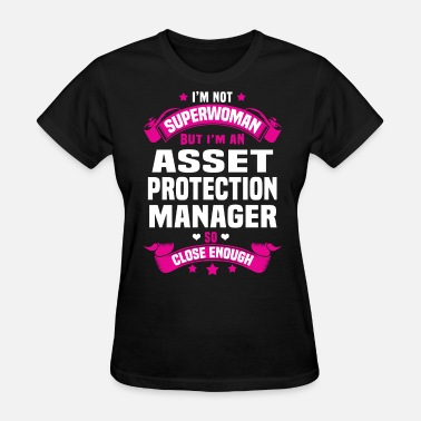 Close Protection Asset Protection Manager - Women's T-Shirt