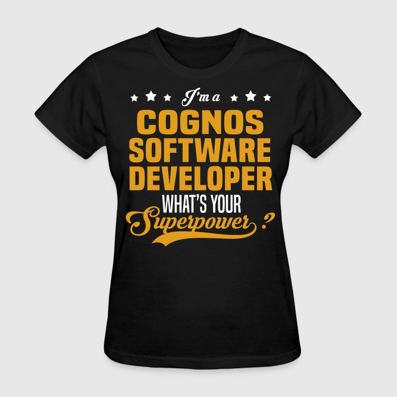 Cognos Software Developer - Women's T-Shirt