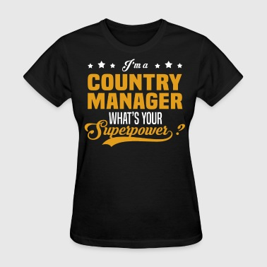 Country Manager - Women's T-Shirt