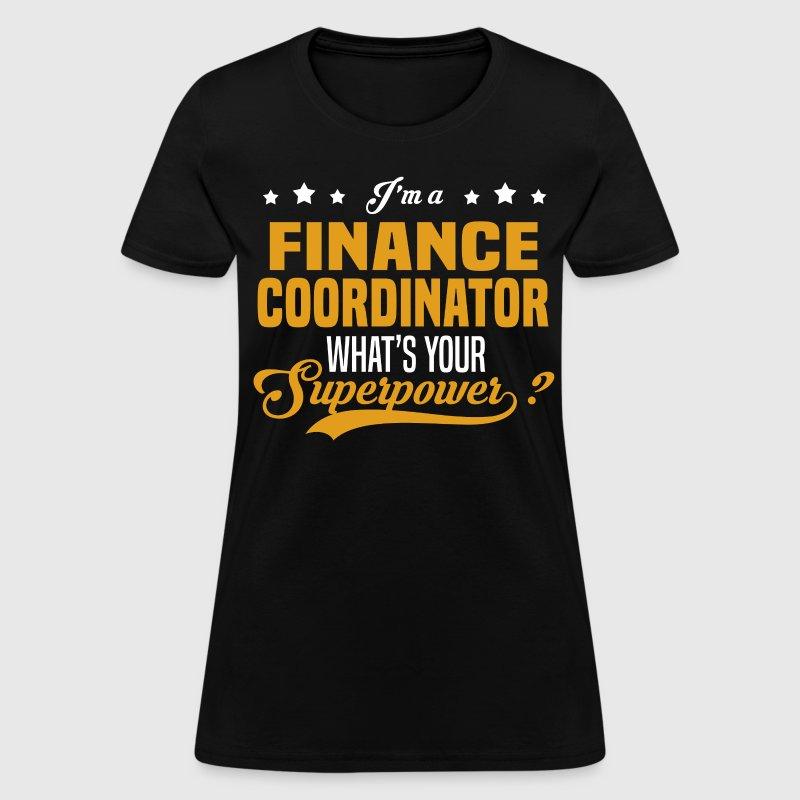 finance coordinator womens t shirt