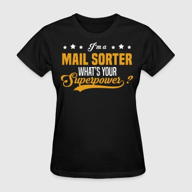 Mail Lady Mail Sorter - Women's T-Shirt