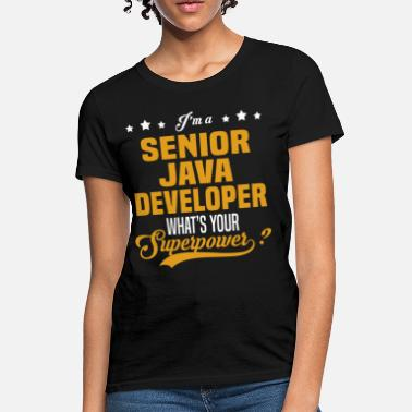Java Developer Girl Senior Java Developer - Women's T-Shirt