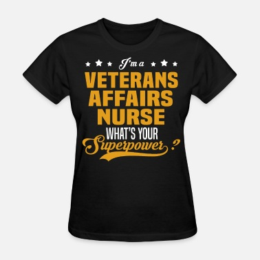 Veterans Affairs Veterans Affairs Nurse - Women's T-Shirt