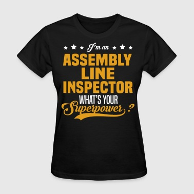 Assembly Line Inspector - Women's T-Shirt