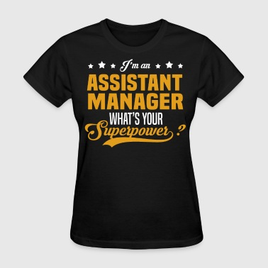 Assistant Manager - Women's T-Shirt