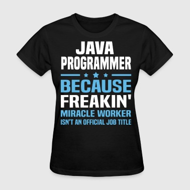 Java Programmer - Women's T-Shirt