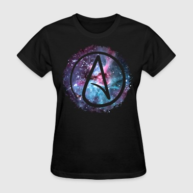 Starry Atheist - Ladies - Women's T-Shirt