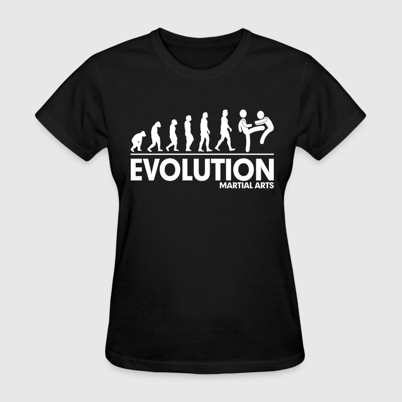 Evolution Martial Arts FUNNY - Women's T-Shirt