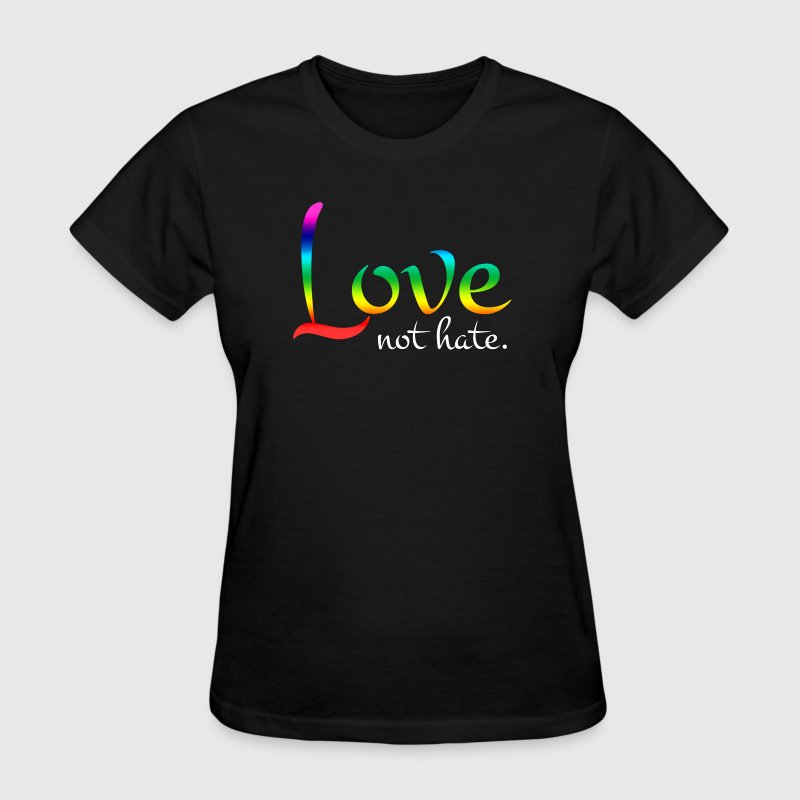 Love Not Hate Orlando Strong Love Wins - Women's T-Shirt