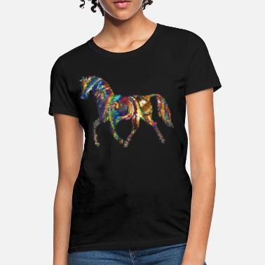 Psychedelic Horse Psychedelic Horse - Women's T-Shirt