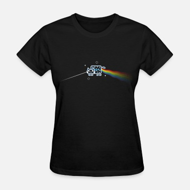 Prism The Dark Side of the Mewn - Women's T-Shirt