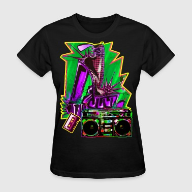 Spiked Shoes BOOMBOX - Women's T-Shirt