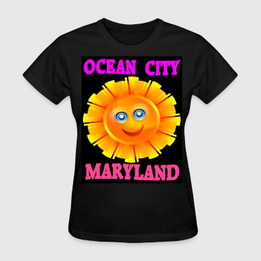 Ocean City Ocean City Sun - Women's T-Shirt