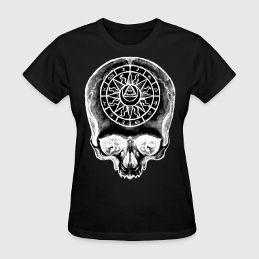 Astrology Skull Inverse - Women's T-Shirt