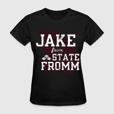 Fromm jake from state fromm soccer teamwork worldcup spo - Women's T-Shirt