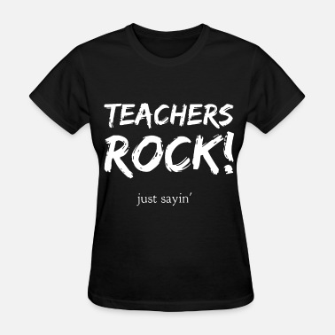 Trust Me Im A Science Teacher teachers rocks just sayin rock - Women's T-Shirt
