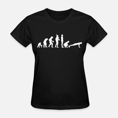 Fuck Crossfit Mens CROSSFIT Evolution Training Lifting Fitness C - Women's T-Shirt