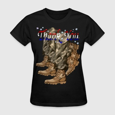 Thank You Veterans Thank You Veterans  - Women's T-Shirt