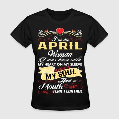 APRIL WOMAN - Women's T-Shirt