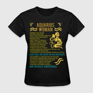 Aquarius Woman - Women's T-Shirt