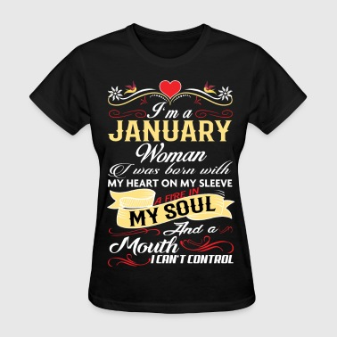 JANUARY WOMAN - Women's T-Shirt