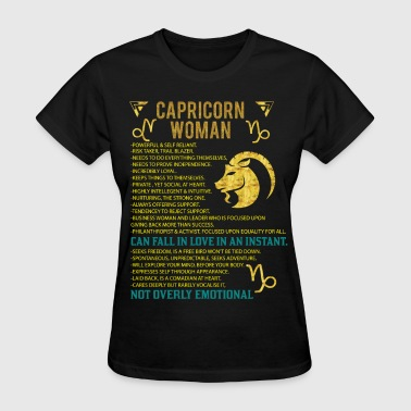 Capricorn Capricorn Woman - Women's T-Shirt