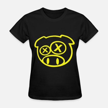 Mickey Mouse Hands Fuck Drift Pig funny graphic jdm graphic drifting tees - Women's T-Shirt