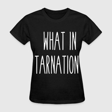Tits Cars what in tarnation neck long sleeve cotton for men - Women's T-Shirt