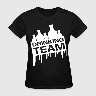 Boobs Bachelor Party Drinking Team with multiple variations for Bachelo - Women's T-Shirt