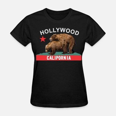 Hollywood California hollywood - Women's T-Shirt