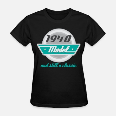 1940 1940 Birth Year Vintage Birthday - Women's T-Shirt