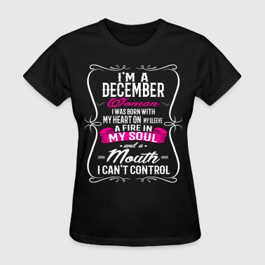 DECEMBER WOMAN - Women's T-Shirt