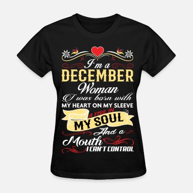 Woman DECEMBER WOMAN - Women's T-Shirt