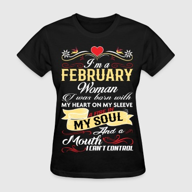 FEBRUARY WOMAN - Women's T-Shirt