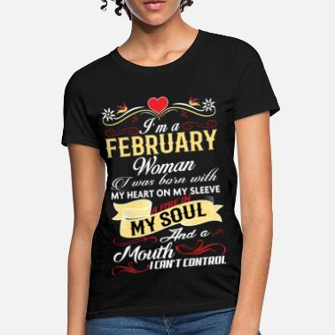 bc3574954 Shop Born in February Shirts online   Spreadshirt