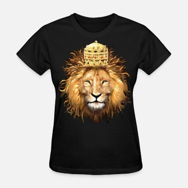 Lions Head Reggae lion - Women's T-Shirt