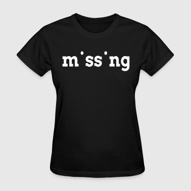 MISSING MISSING - Women's T-Shirt