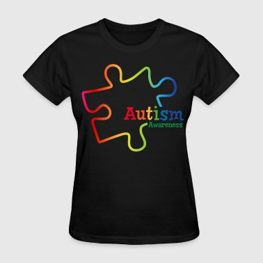 Rainbow Gradient Autism - Women's T-Shirt