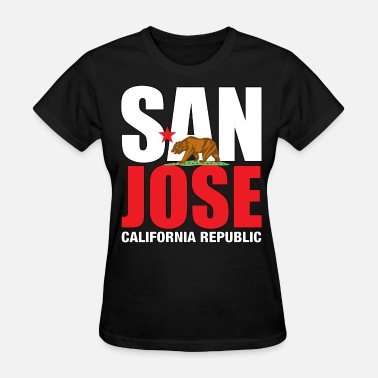 San Jose California san_jose - Women's T-Shirt