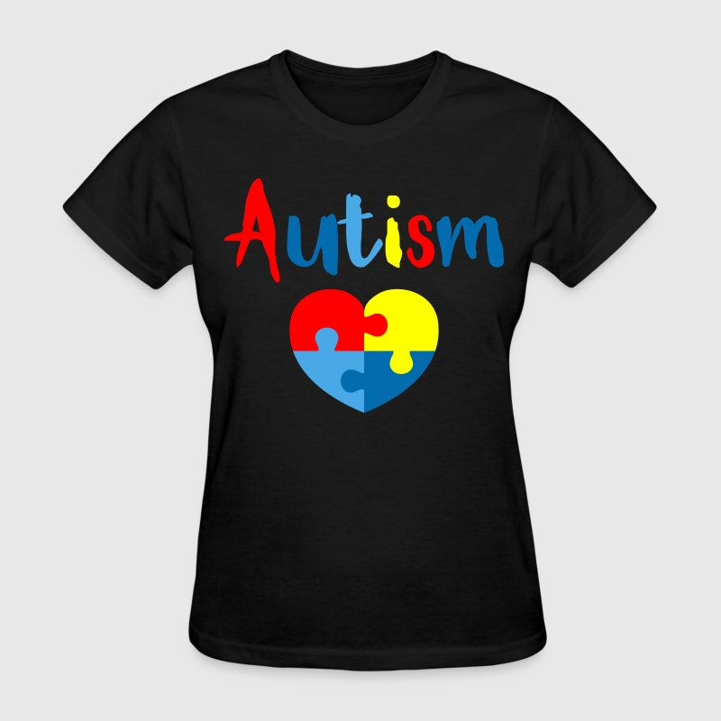 Autism Heart - Women's T-Shirt