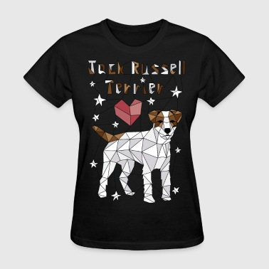 Geometric Jack Russell Terrier - Women's T-Shirt