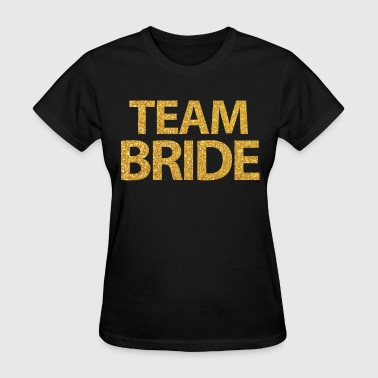 Shop bride squad t shirts online spreadshirt for Bucket squad gold shirt