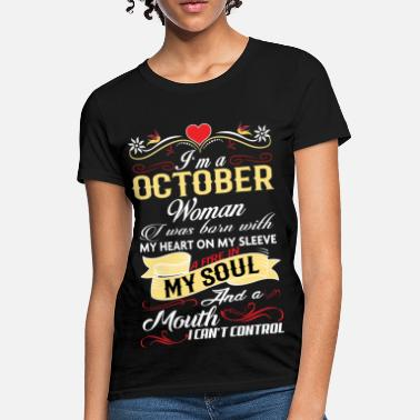 ec17d866a Shop October Birthday T-Shirts online | Spreadshirt
