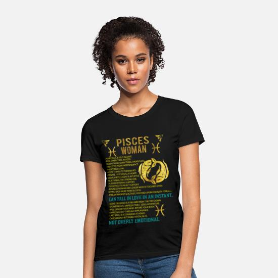 Pisces Woman Women's T-Shirt - black