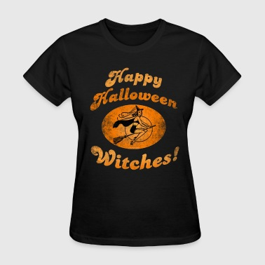 Happy Halloween Witches - Women's T-Shirt